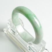翠绿正圈翡翠手镯(57mm)-25P60-4