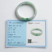 翠绿贵妃翡翠手镯(56mm)-25P60-2